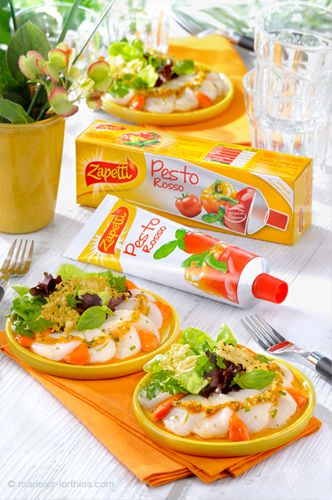 packaging pour sauces Zapetti
