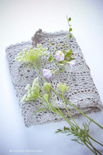 décoration de pâques, set en crochet