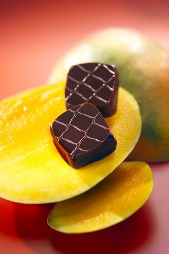 chocolats gourmands à la mangue