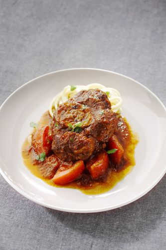SEB nutricook, osso bucco milanaise