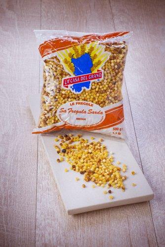 saveurs de sardaigne, pâte fregola moyenne