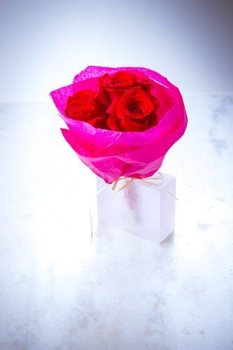 bouquet de roses st Valentin