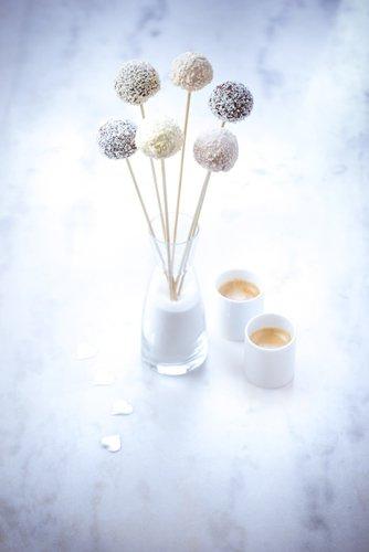 recette st Valentin, cake pops