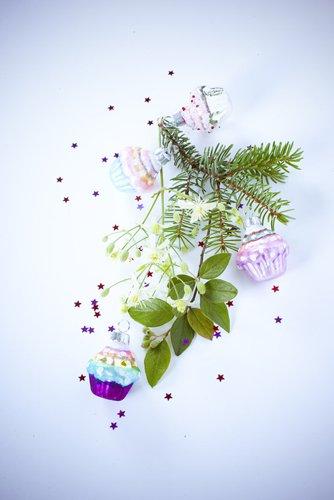 photographie professionnelle, composition florale avec sapin