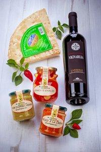 saveurs de sardaigne, vins, conserves, pain