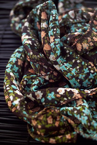 décoration, foulard liberty