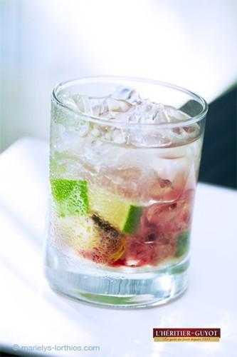Héritier Guyot cocktail kurrant pina
