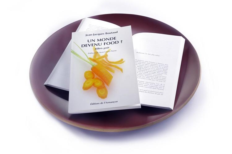 couverture du livre food assiette