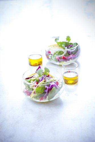 recette St Valentin, salade grenade