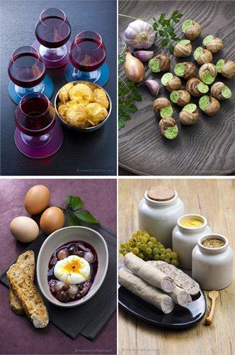 spécialités gastronomiques bourguignonnes