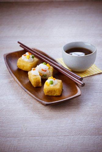 photographie professionnelle, sushi salé