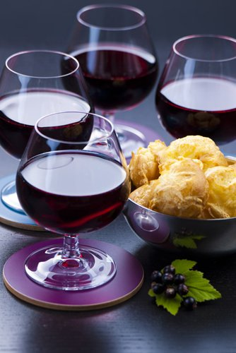 photographie professionnelle, vin rouge bourgogne, gougères