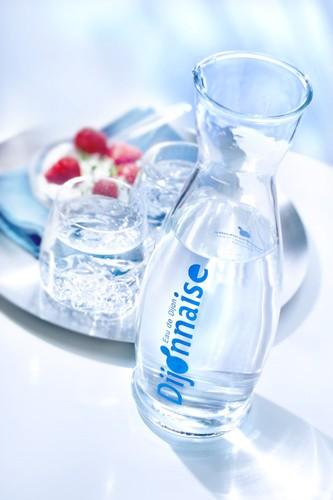 Eau Dijonnaise, ambiance table carafe eau
