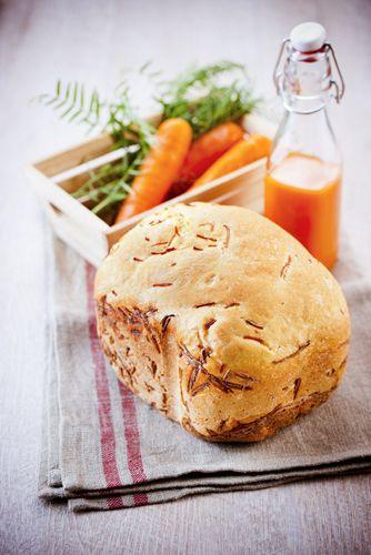 recettes sans gluten pain aux carottes