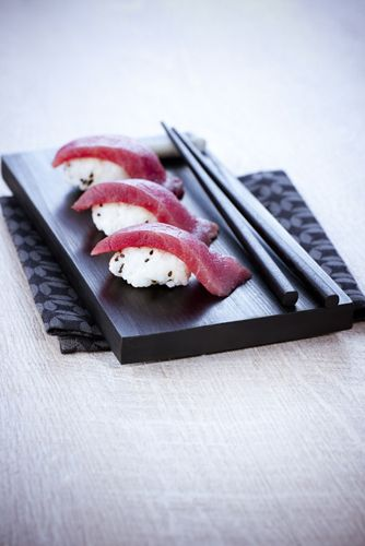 Moulinex, sushi thon fin