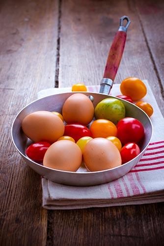 omelette-aux-tomates-cerises