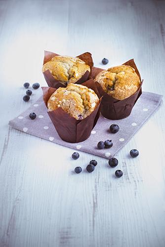 recettes pâtisseries facile muffins aux myrtilles
