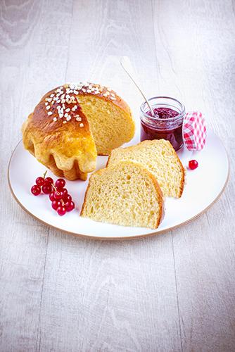 recettes pâtisseries facile brioche maison et fruits rouges
