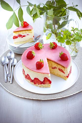 recettes pâtisseries facile fraisier maison et crème au beurre