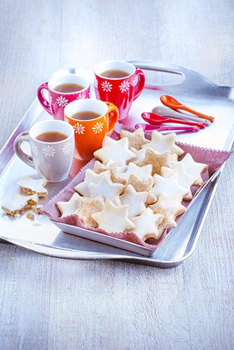 recettes pâtisseries facile gâteau étoile de noël