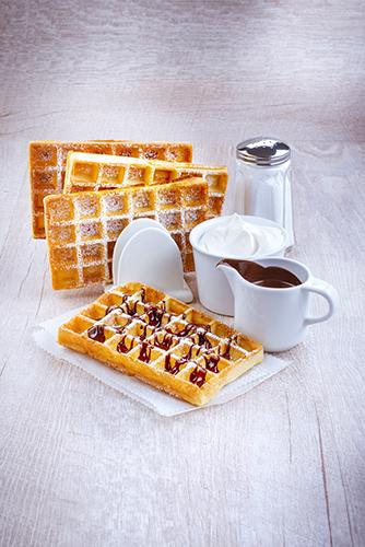 gauffre maison couli chocolat sucre