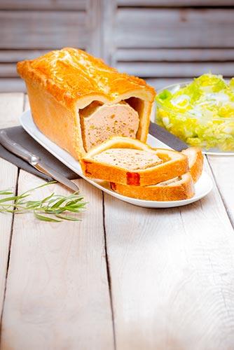 recettes prêtes en avance paté en croûte de poulet estragon Companion de Moulinex make ahead recipes