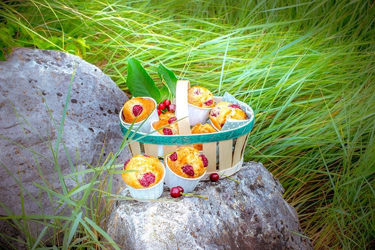 recettes-de-pique-nique-pour-companion-dessert-muffins-cerises