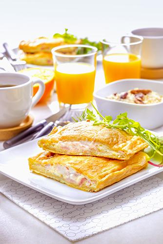 cracker aux céréales et omelette soufflée snack collection tefal