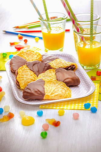 biscuits vanille fourrés chocolat snack collection tefal