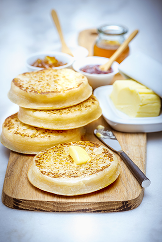 recette pour brunch crumpets maison cuisine companion moulinex brunch recipes