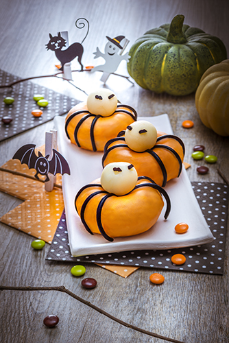 donuts araignée d halloween snack collection tefal