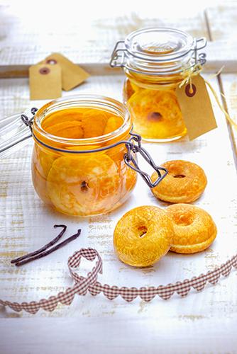 baba au rhum maison en bocaux snack collection tefal