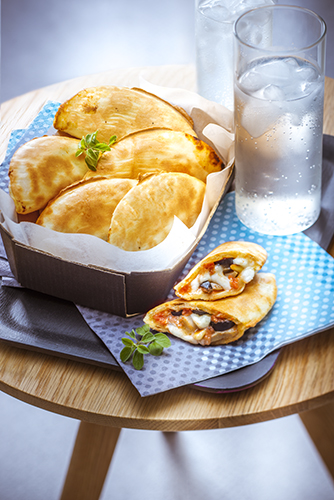 chausson italien mini calzone enpanada au gauffrier snack collection tefal