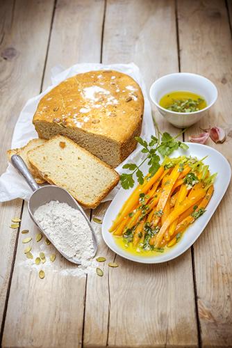 Délicieux petits légumes pain cocotte graines de courges mini carottes relevées légumes printemps companion moulinex