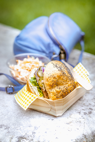 menu street food bagels et coleslaw companion moulinex