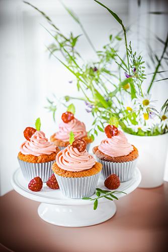 recette idéale pour soirée télé cupcakes aux framboises dinner recipes