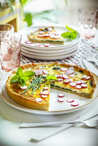 recette idéale pour soirée télé quiche épinards ricotta et pignons de pin dinner recipes