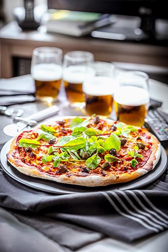 recette idéale pour soirée télé pizza veau haché et sauce tomate dinner recipes