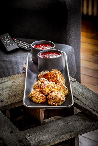 recette idéale pour soirée télé poulet croustillant sauce aux poivrons dinner recipes