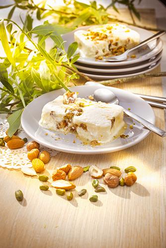 recette italienne semi fredo vanille amandes companion moulinex italian food