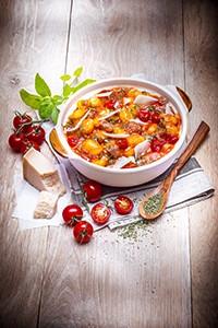 recettes crockpot gnocchis chipolatas tomatoes recipes crockpot miniature