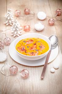 noel_chic recettes creme_potiron_coco_saumon_fume christmas_recipes Companion_moulinex miniature