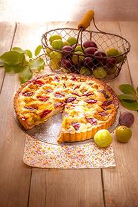 tarte amandine aux prunes gouter de rentree companion moulinex m