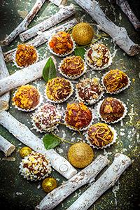 recettes festives noel christmas truffes croustillantes miniature recette pour noel