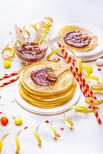 carnaval recettes crêpes et pâte à tartiner maison carnival recipes