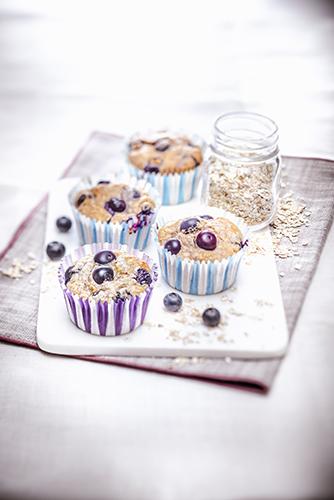 muffins-flocons-d'-avoine-myrtilles