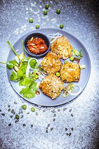junk food healthy recipes croquettes légumes veggie miniature