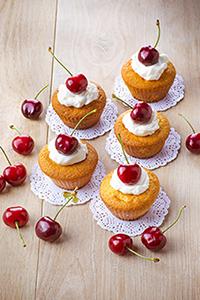 cupcakes-a-la-cerise