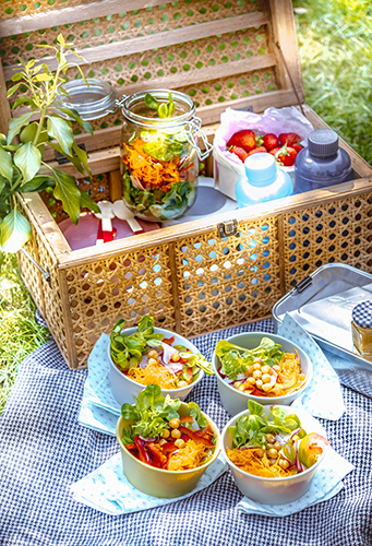 panier-picnic-pique nique-salade-legume